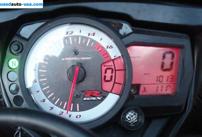 Car Market in USA - For Sale 2008  Suzuki GSX R 750