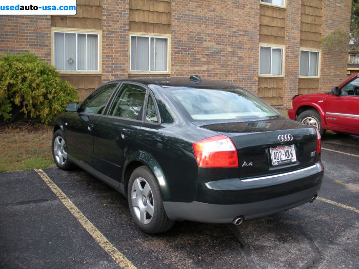 for sale 2004 passenger car audi a4 alexandria insurance rate quote price 14990. Black Bedroom Furniture Sets. Home Design Ideas