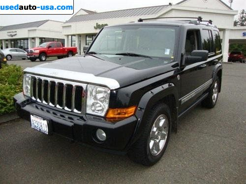 Car Market in USA - For Sale 2006  Jeep Commander Limited