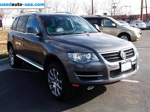For Sale 2008 passenger car Volkswagen Touareg 2 V6, Denver, insurance rate quote, price 34995$