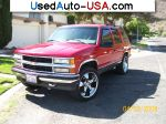 Chevrolet Tahoe Red Hot