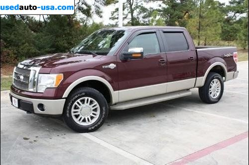 for sale 2009 passenger car ford f 150 king ranch 4x4 texarkana insurance rate quote price 33877. Black Bedroom Furniture Sets. Home Design Ideas
