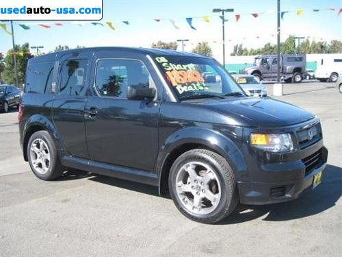 for sale 2008 passenger car honda element 2wd 5 door at sc corona insurance rate quote price. Black Bedroom Furniture Sets. Home Design Ideas