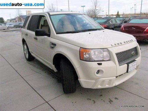 Car Market in USA - For Sale 2010    LR2   HSE
