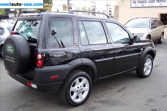 for sale 2003 passenger car land rover freelander pomona. Black Bedroom Furniture Sets. Home Design Ideas