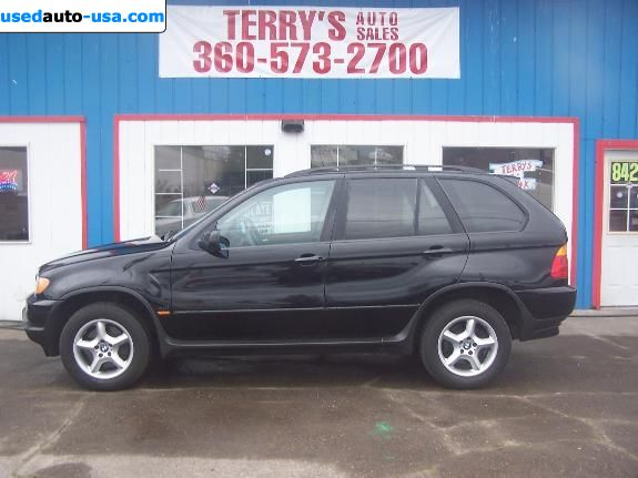 For Sale 2002 passenger car BMW X5, Vancouver, insurance ...