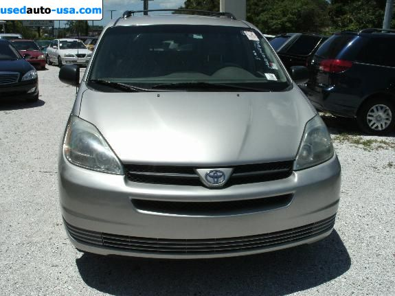 Car Market in USA - For Sale 2005  Toyota Sienna