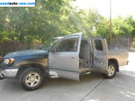 Car Market in USA - For Sale 2002  Toyota Tundra
