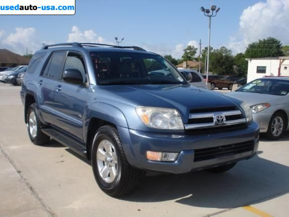 for sale 2005 passenger car toyota 4runner houston. Black Bedroom Furniture Sets. Home Design Ideas