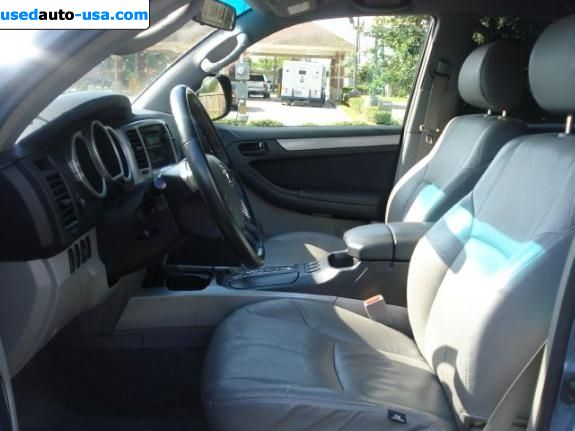 Car Market in USA - For Sale 2005  Toyota 4Runner