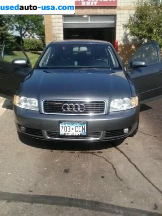 Car Market in USA - For Sale 2004  Audi A4