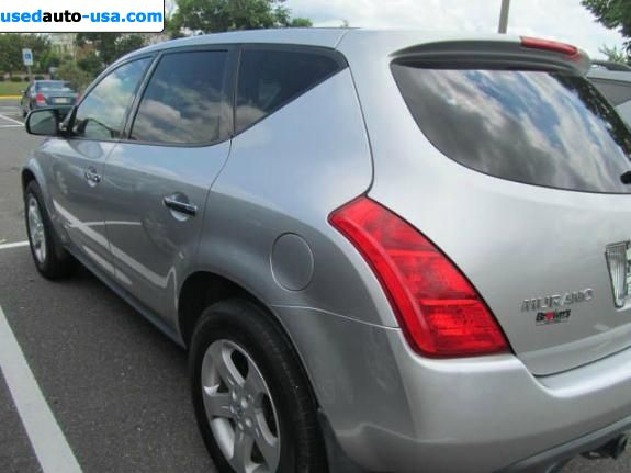 Car Market in USA - For Sale 2003  Nissan Murano