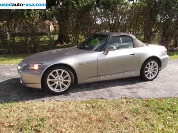 Car Market in USA - For Sale 2007  Honda S2000