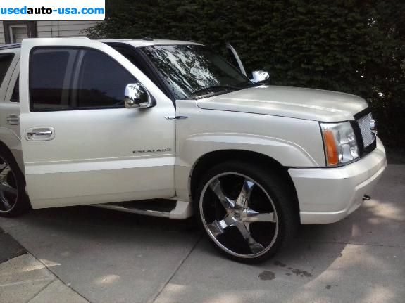 for sale 2003 passenger car cadillac escalade milwaukee insurance rate quote price 10500. Black Bedroom Furniture Sets. Home Design Ideas