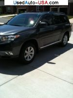 Toyota Highlander  used cars market