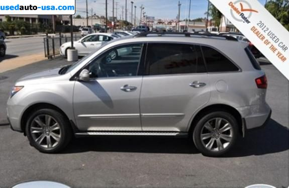 for sale 2010 passenger car acura mdx baltimore insurance rate quote price 27987. Black Bedroom Furniture Sets. Home Design Ideas