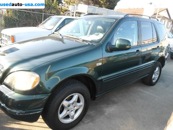 Car Market in USA - For Sale 2001  Mercedes ML
