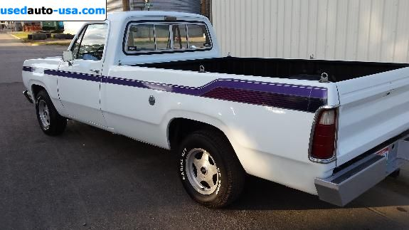 Car Market in USA - For Sale 1978  Dodge  D-150