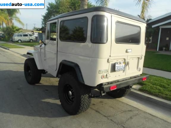 Car Market in USA - For Sale 1969  Toyota Land Cruiser