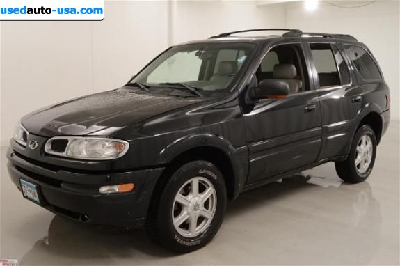 Car Market in USA - For Sale 2002  Oldsmobile Bravada Smart Trak