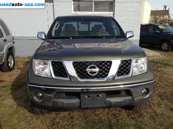 for sale 2005 passenger car nissan frontier fairfield. Black Bedroom Furniture Sets. Home Design Ideas