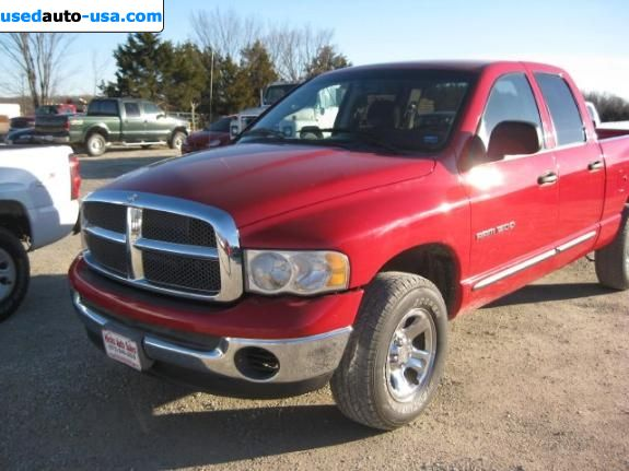 For Sale 2002 passenger car Dodge Ram 1500 Truck SLT