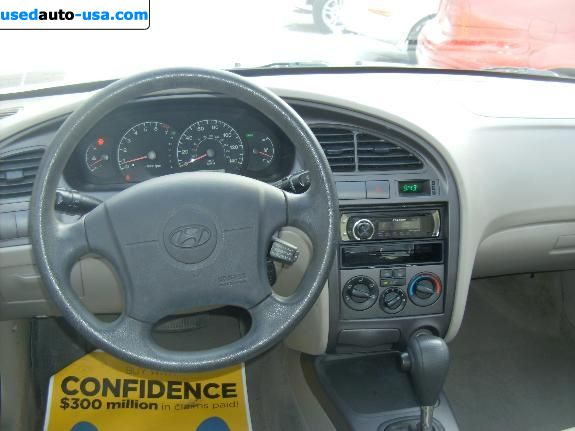 Car Market in USA - For Sale 2003  Hyundai Elantra