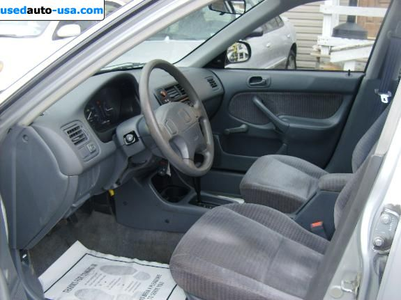 Car Market in USA - For Sale 1999  Honda Civic