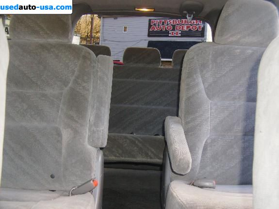 Car Market in USA - For Sale 2002  Honda Odyssey