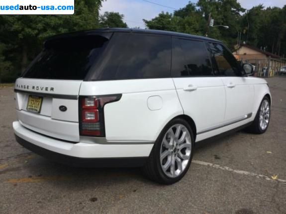 Car Market in USA - For Sale 2014  Land Rover Range Rover