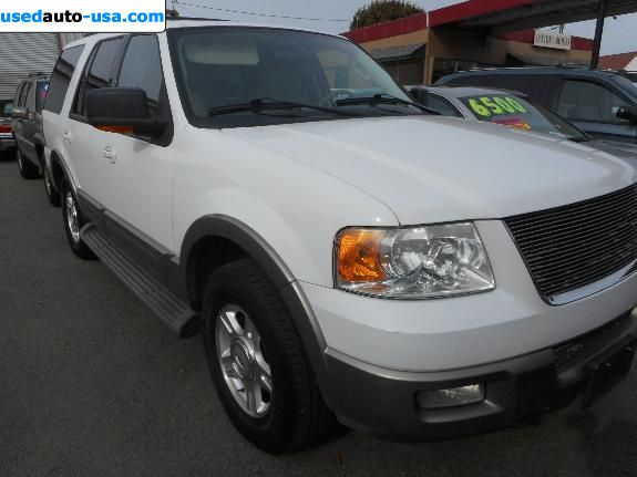 Car Market in USA - For Sale 2004  Ford Expedition Eddie Bauer