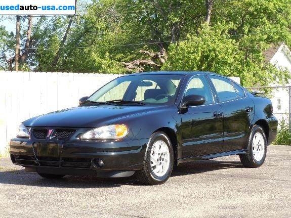 for sale 2004 passenger car pontiac grand am kokomo insurance rate quote price 6995. Black Bedroom Furniture Sets. Home Design Ideas