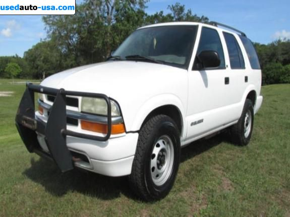 Car Market in USA - For Sale 2003  Chevrolet Blazer