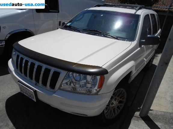Car Market in USA - For Sale 2002    Grand Cherokee Limited