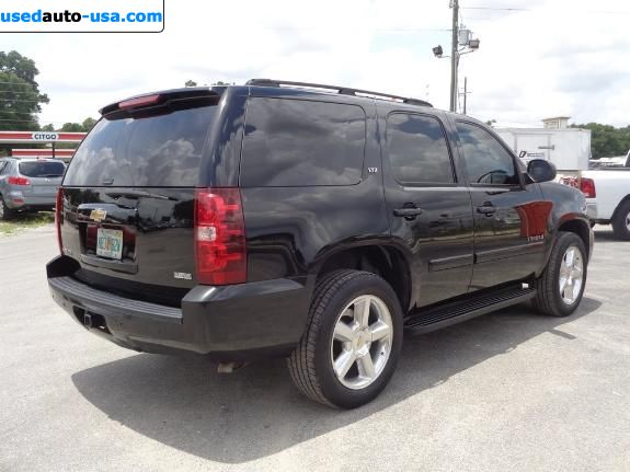 Car Market in USA - For Sale 2007  Chevrolet Tahoe LTZ