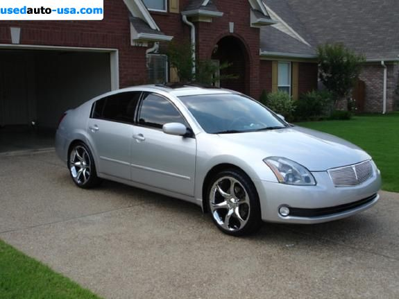 for sale 2004 passenger car nissan maxima raleigh. Black Bedroom Furniture Sets. Home Design Ideas