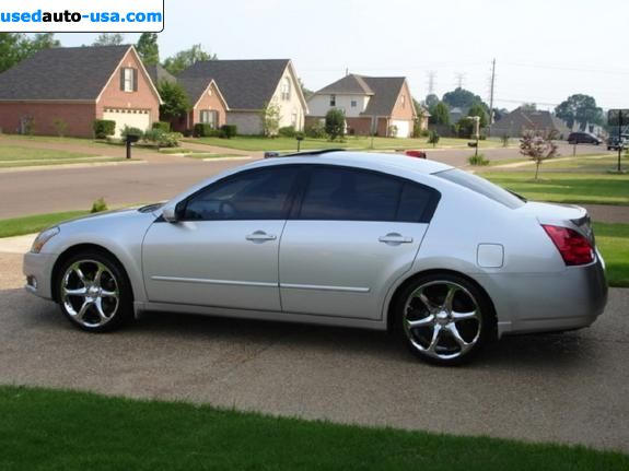 for sale 2004 passenger car nissan maxima se philadelphia. Black Bedroom Furniture Sets. Home Design Ideas