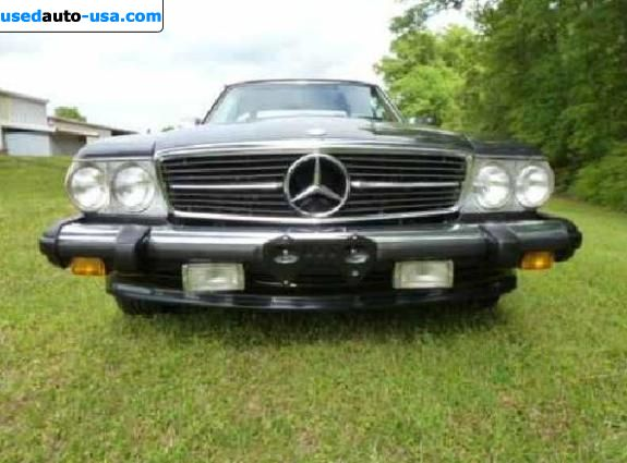 Car Market in USA - For Sale 1986  Mercedes Sl SL Class