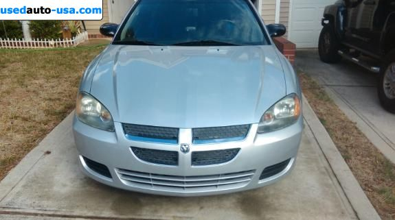 Car Market in USA - For Sale 2005  Dodge Spirit