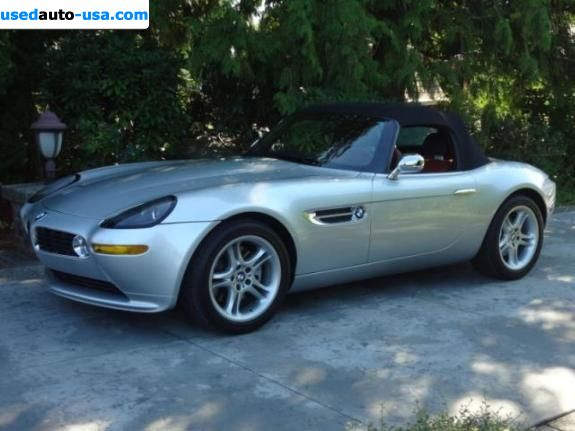 Car Market in USA - For Sale 2001  BMW Z8