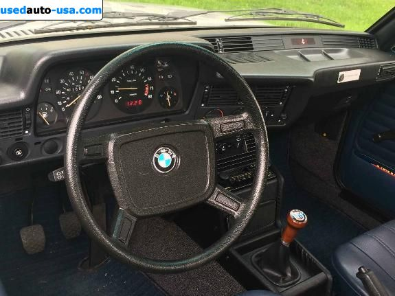Car Market in USA - For Sale 1982  BMW 3 Series