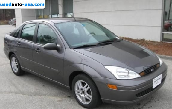Car Market in USA - For Sale 2002  Ford Focus SE