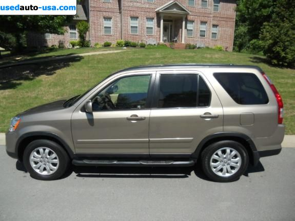 Car Market in USA - For Sale 2005  Honda CR V CR-V