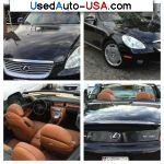 Lexus SC 430 CONVERTIBLE  used cars market
