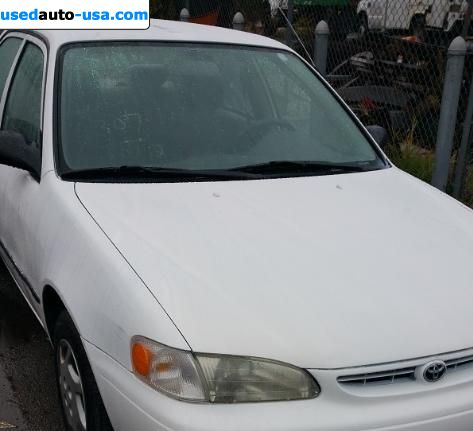 Car Market in USA - For Sale 1999  Toyota Corolla