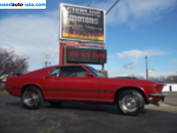 Car Market in USA - For Sale 1969  Ford Mustang Mach 1 S Code 390-4V