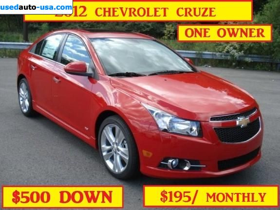 Car Market in USA - For Sale 2012  Chevrolet Cruze 1LT RS
