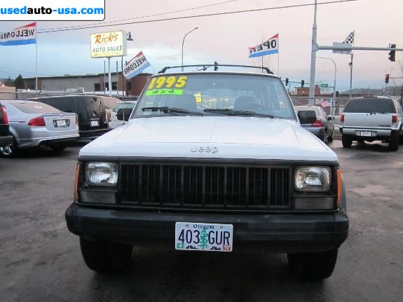 Car Market in USA - For Sale 1995  Jeep Cherokee SPORT