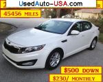 KIA Optima EX  used cars market
