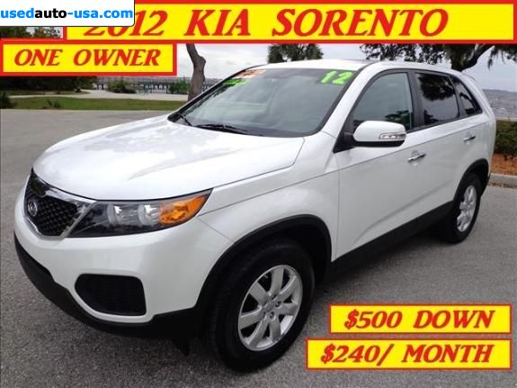 Car Market in USA - For Sale 2012  KIA Sorento LX